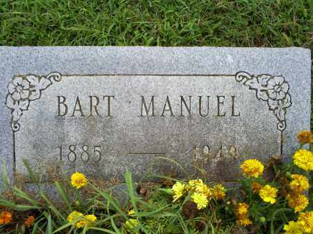 MANUEL, BART - Ross County, Ohio | BART MANUEL - Ohio Gravestone Photos