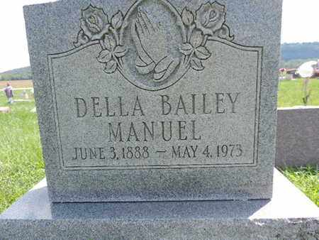 BAILEY MANUEL, DELLA - Ross County, Ohio | DELLA BAILEY MANUEL - Ohio Gravestone Photos