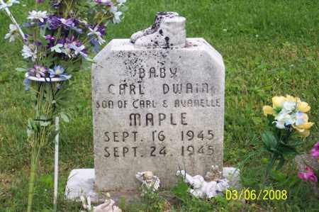 MAPLE, CARL DWAIN - Ross County, Ohio | CARL DWAIN MAPLE - Ohio Gravestone Photos