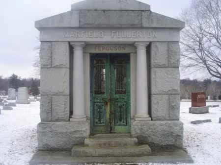 MARFIELD FULLERTON FERGUSON, MAUSOLEUM - Ross County, Ohio | MAUSOLEUM MARFIELD FULLERTON FERGUSON - Ohio Gravestone Photos