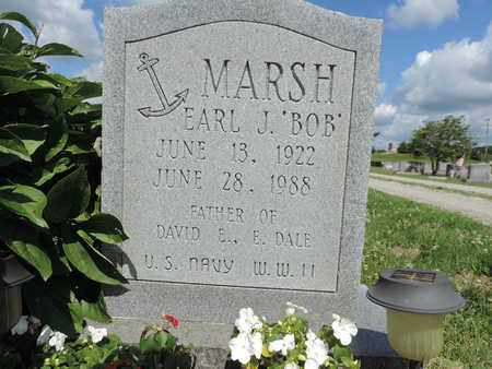 MARSH, EARL J. - Ross County, Ohio | EARL J. MARSH - Ohio Gravestone Photos