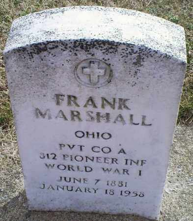 MARSHALL, FRANK - Ross County, Ohio | FRANK MARSHALL - Ohio Gravestone Photos