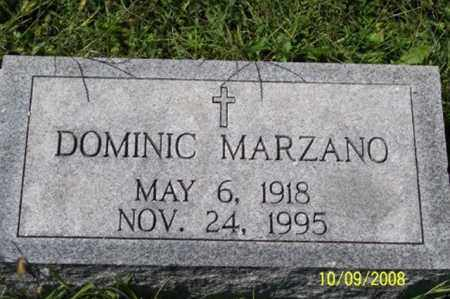 MARZANO, DOMINIC - Ross County, Ohio | DOMINIC MARZANO - Ohio Gravestone Photos