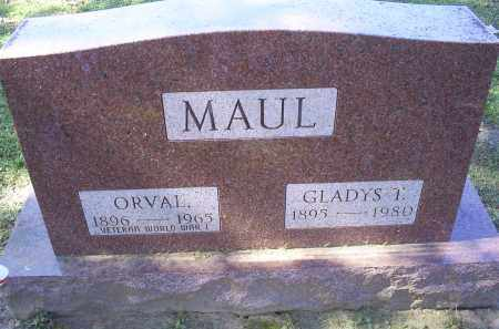 MAUL, GLADYS T. - Ross County, Ohio | GLADYS T. MAUL - Ohio Gravestone Photos