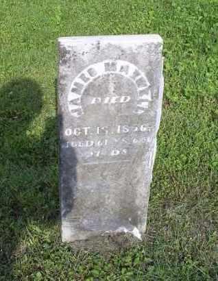 MAXWELL, JAMES - Ross County, Ohio | JAMES MAXWELL - Ohio Gravestone Photos
