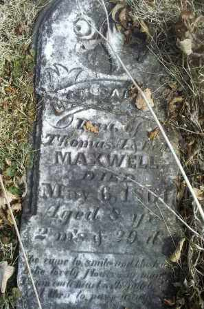 MAXWELL, LEAH ISABELLA - Ross County, Ohio | LEAH ISABELLA MAXWELL - Ohio Gravestone Photos