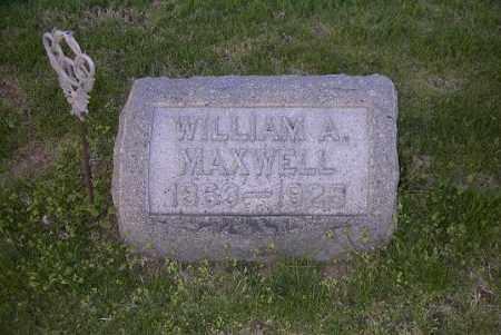 MAXWELL, WILLIAM A. - Ross County, Ohio | WILLIAM A. MAXWELL - Ohio Gravestone Photos