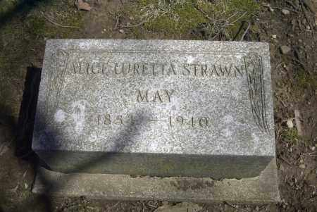 STRAWN MAY, ALICE LURETTA - Ross County, Ohio | ALICE LURETTA STRAWN MAY - Ohio Gravestone Photos