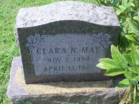 MAY, CLARA N. - Ross County, Ohio | CLARA N. MAY - Ohio Gravestone Photos