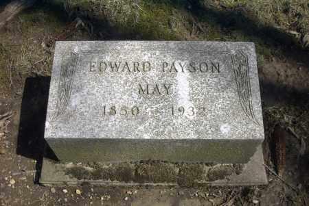 MAY, EDWARD PAYSON - Ross County, Ohio | EDWARD PAYSON MAY - Ohio Gravestone Photos