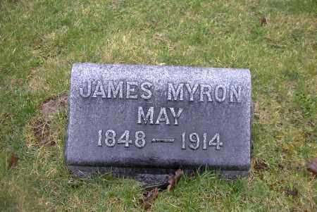 MAY, JAMES MYRON - Ross County, Ohio | JAMES MYRON MAY - Ohio Gravestone Photos