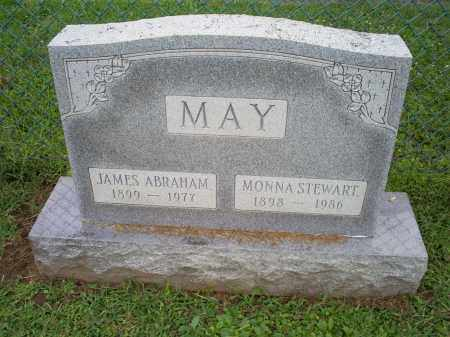 MAY, JAMES ABRAHAM - Ross County, Ohio | JAMES ABRAHAM MAY - Ohio Gravestone Photos