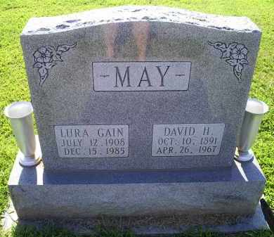 GAIN MAY, LURA - Ross County, Ohio | LURA GAIN MAY - Ohio Gravestone Photos