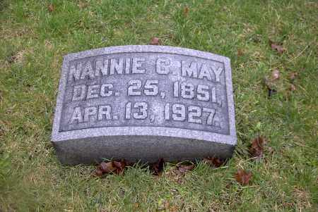 MAY, NANNIE C. - Ross County, Ohio | NANNIE C. MAY - Ohio Gravestone Photos