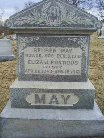 MAY, REUBEN - Ross County, Ohio | REUBEN MAY - Ohio Gravestone Photos