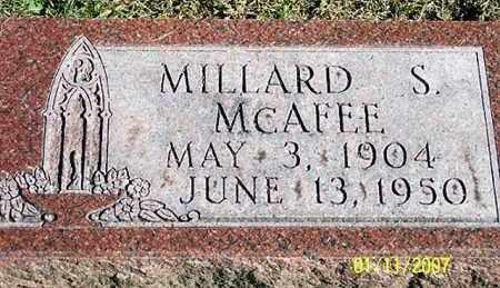 MCAFEE, MILLARD S. - Ross County, Ohio | MILLARD S. MCAFEE - Ohio Gravestone Photos
