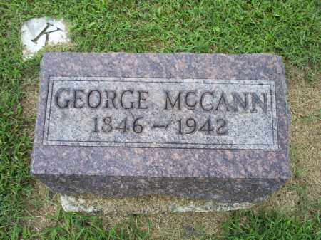 MCCANN, GEORGE - Ross County, Ohio | GEORGE MCCANN - Ohio Gravestone Photos