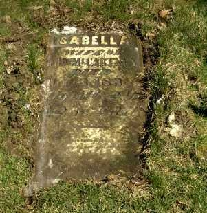 MCCARTNEY, ISABELLA - Ross County, Ohio | ISABELLA MCCARTNEY - Ohio Gravestone Photos