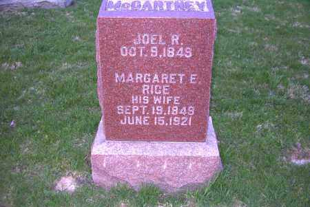 MCCARTNEY, MARGARET ELLEN - Ross County, Ohio | MARGARET ELLEN MCCARTNEY - Ohio Gravestone Photos