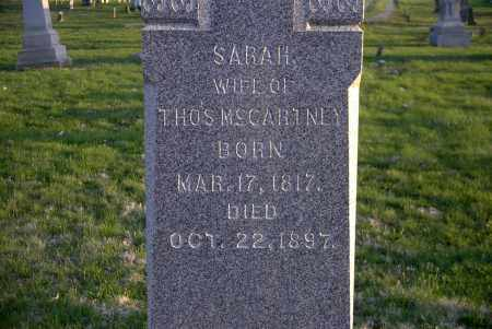 MCCARTNEY, SARAH - Ross County, Ohio | SARAH MCCARTNEY - Ohio Gravestone Photos
