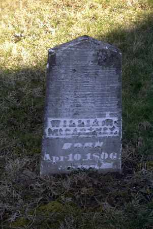 MCCARTNEY, WILLIAM - Ross County, Ohio | WILLIAM MCCARTNEY - Ohio Gravestone Photos