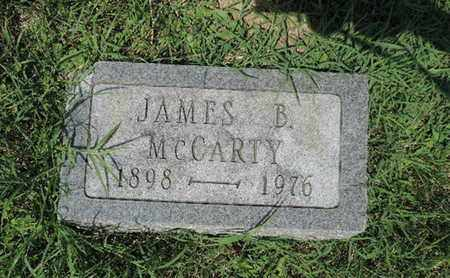 MCCARTY, JAMES B - Ross County, Ohio | JAMES B MCCARTY - Ohio Gravestone Photos