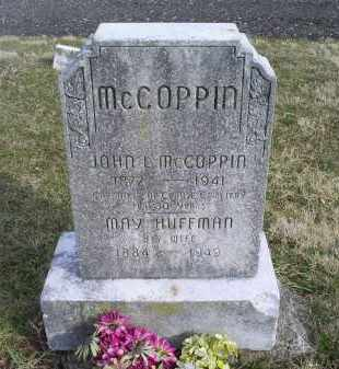 HUFFMAN MCCOPPIN, MARY - Ross County, Ohio | MARY HUFFMAN MCCOPPIN - Ohio Gravestone Photos