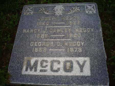MCCOY, NANCY J. - Ross County, Ohio | NANCY J. MCCOY - Ohio Gravestone Photos