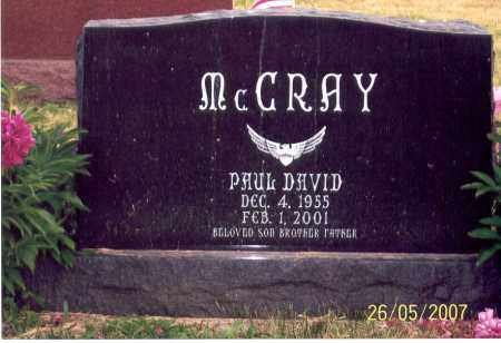 MCCRAY, PAUL DAVID - Ross County, Ohio | PAUL DAVID MCCRAY - Ohio Gravestone Photos