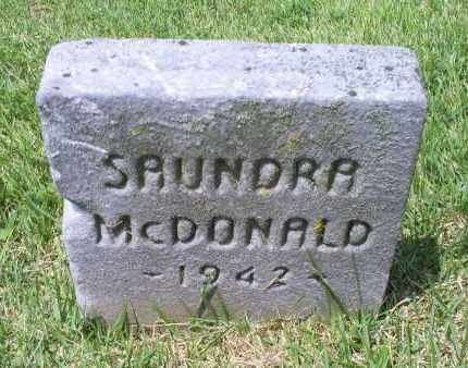 MCDOALD, SAUNDRA - Ross County, Ohio | SAUNDRA MCDOALD - Ohio Gravestone Photos