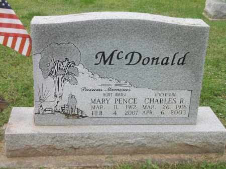 MCDONALD, CHARLES ROBERT - Ross County, Ohio | CHARLES ROBERT MCDONALD - Ohio Gravestone Photos