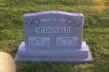 MCDONALD, DAN - Ross County, Ohio | DAN MCDONALD - Ohio Gravestone Photos