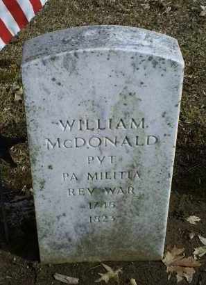 MCDONALD, WILLIAM - Ross County, Ohio | WILLIAM MCDONALD - Ohio Gravestone Photos
