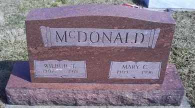 MCDONALD, MARY C. - Ross County, Ohio | MARY C. MCDONALD - Ohio Gravestone Photos