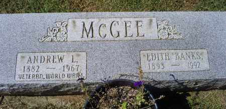 BANKS MCGEE, EDITH - Ross County, Ohio | EDITH BANKS MCGEE - Ohio Gravestone Photos