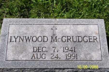 MCGRUDGER, LYNWOOD - Ross County, Ohio | LYNWOOD MCGRUDGER - Ohio Gravestone Photos