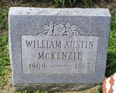 MCKENZIE, WILLIAM AUSTIN - Ross County, Ohio | WILLIAM AUSTIN MCKENZIE - Ohio Gravestone Photos