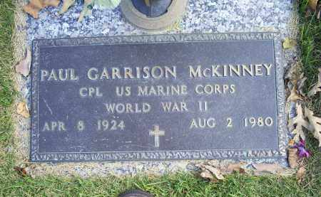 MCKINNEY, PAUL GARRISON - Ross County, Ohio | PAUL GARRISON MCKINNEY - Ohio Gravestone Photos