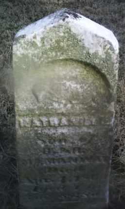 MCMANWAY, NATHANIEL G. - Ross County, Ohio | NATHANIEL G. MCMANWAY - Ohio Gravestone Photos