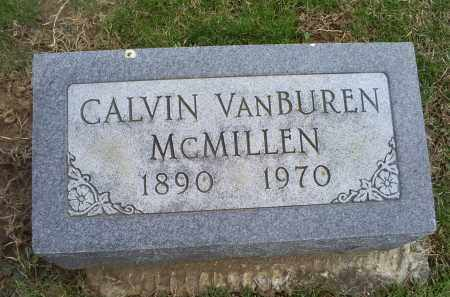 MCMILLEN, CALVIN VANBUREN - Ross County, Ohio | CALVIN VANBUREN MCMILLEN - Ohio Gravestone Photos