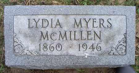 MCMILLEN, LYDIA - Ross County, Ohio | LYDIA MCMILLEN - Ohio Gravestone Photos