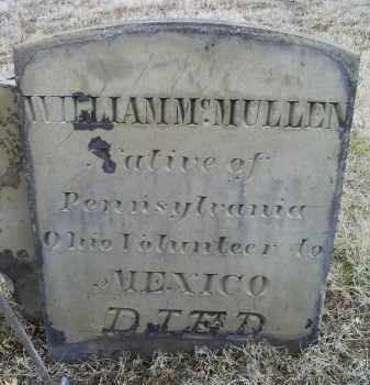 MCMULLEN, WILLIAM - Ross County, Ohio | WILLIAM MCMULLEN - Ohio Gravestone Photos
