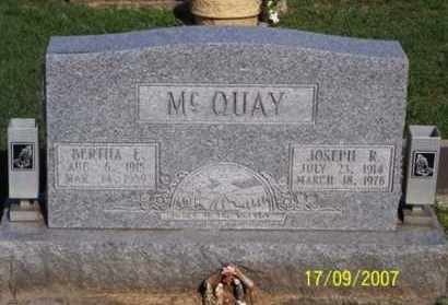 MCQUAY, JOSEPH R. - Ross County, Ohio | JOSEPH R. MCQUAY - Ohio Gravestone Photos