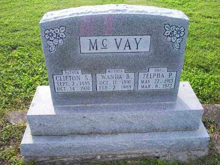 MCVAY, CLIFTON S. - Ross County, Ohio | CLIFTON S. MCVAY - Ohio Gravestone Photos