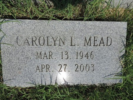 MEAD, CAROLYN L - Ross County, Ohio | CAROLYN L MEAD - Ohio Gravestone Photos