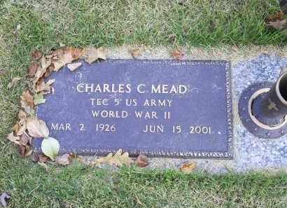 MEAD, CHARLES C - Ross County, Ohio | CHARLES C MEAD - Ohio Gravestone Photos