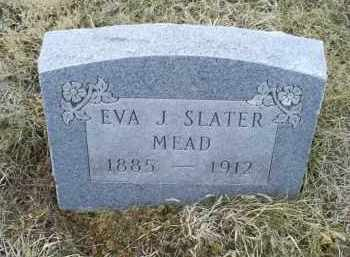SLATER MEAD, EVA J. - Ross County, Ohio | EVA J. SLATER MEAD - Ohio Gravestone Photos
