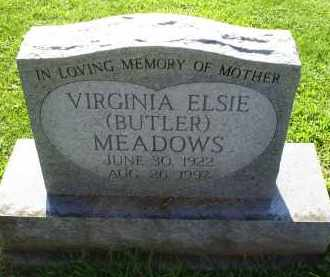 MEADOWS, VIRGINIA ELSIE - Ross County, Ohio | VIRGINIA ELSIE MEADOWS - Ohio Gravestone Photos