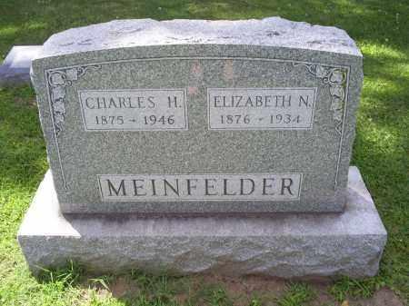 MEINFELDER, CHARLES H. - Ross County, Ohio | CHARLES H. MEINFELDER - Ohio Gravestone Photos