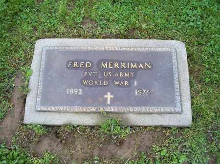 MERRIMAN, FRED M. - Ross County, Ohio | FRED M. MERRIMAN - Ohio Gravestone Photos